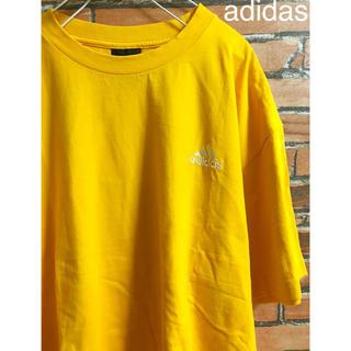 アディダス(adidas)のadidas アディダス tシャツ オレンジ 可愛い おしゃれ 人気 かわいい(Tシャツ/カットソー(半袖/袖なし))