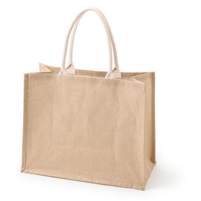 MUJI (無印良品)(ムジルシリョウヒン)の[新品] 無印良品 マイジュートバッグ A4  レディースのバッグ(トートバッグ)の商品写真
