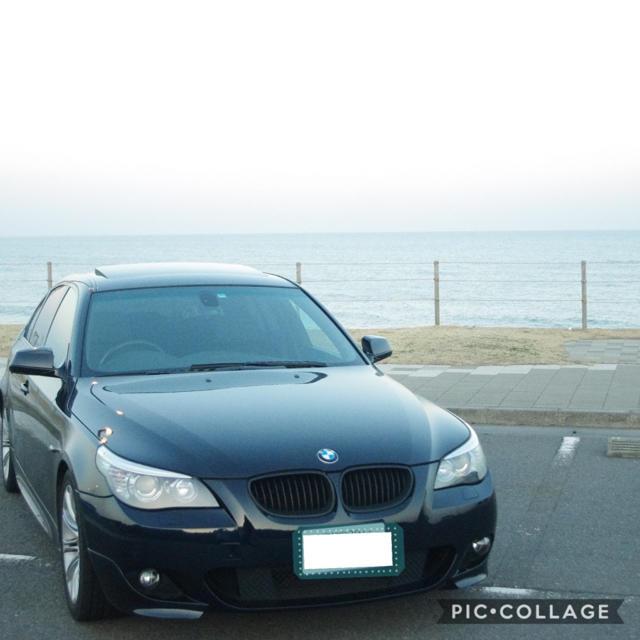 BMW(ビーエムダブリュー)のBMW 525i E60 平成22年車 Mスポ サンルーフ 電子シフト 自動車/バイクの自動車(車体)の商品写真