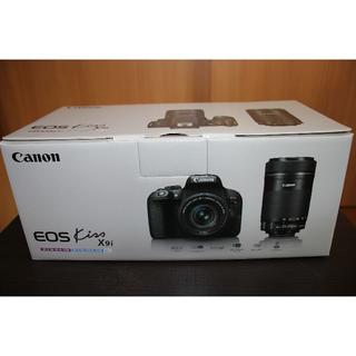 Canon - 新品・未使用 EOS X9i Wズームキット/メーカー保証2020年7月4日