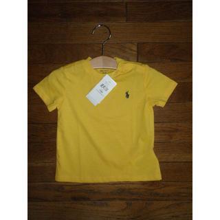 ポロラルフローレン(POLO RALPH LAUREN)の【新品】Ralph Lauren ベビーTシャツ 80cm(Tシャツ)