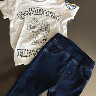ムジルシリョウヒン(MUJI (無印良品))の無印ジーンズ ホークスTシャツセット(Tシャツ)