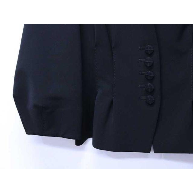FOXEY(フォクシー)のFOXEY NEW YORK ビクトリアジャケット 黒40 レディースのジャケット/アウター(ノーカラージャケット)の商品写真