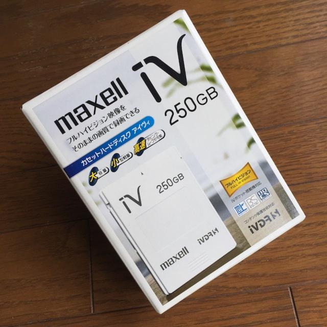 maxell(マクセル)のmaxell iV(アイヴィ)(日立薄型テレビ「Wooo」対応) スマホ/家電/カメラのテレビ/映像機器(その他)の商品写真
