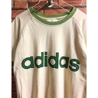 アディダス(adidas)のadidas アディダス tシャツ 80's 90's おしゃれ クリーム 人気(Tシャツ/カットソー(半袖/袖なし))