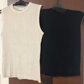 ビューティアンドユースユナイテッドアローズ(BEAUTY&YOUTH UNITED ARROWS)のビューティアンドユース カットソー、ニット2点セット(カットソー(半袖/袖なし))