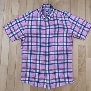 ユニクロ(UNIQLO)のユニクロ  半袖チェックシャツ(シャツ)