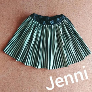 ジェニィ(JENNI)のJenni ストライププリーツスカート(スカート)