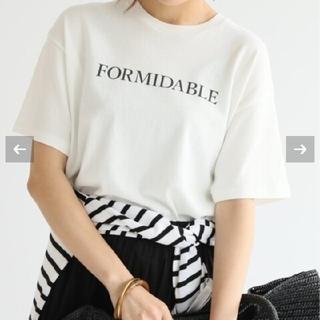 IENA - 新品未開封 ロゴプリントTシャツ