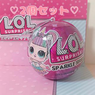 Takara Tomy - 2個セット☆ スパークル sparkle lolサプライズ lol サプライズ