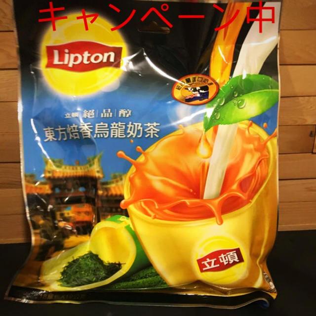 リプトン ウーロンミルクティー  食品/飲料/酒の飲料(茶)の商品写真