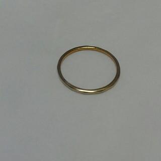 シルバ-925リング❤ピンクゴ-ルド❤5号❤simpleリング❤ピンキ-❤(リング(指輪))