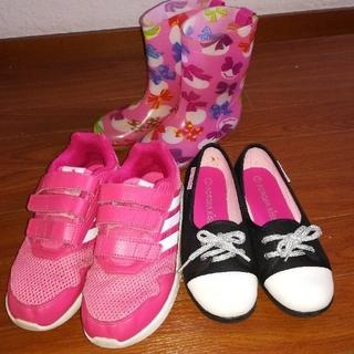 adidas - スニーカー、長靴セット