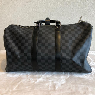 LOUIS VUITTON - 美品  キーポール・バンドリエール45cm ダミエ