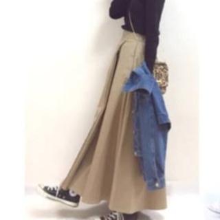 GU - GU ロングフレアスカート