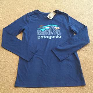パタゴニア(patagonia)の新品 パタゴニア ロンT 長袖 Tシャツ 薄手(Tシャツ/カットソー)