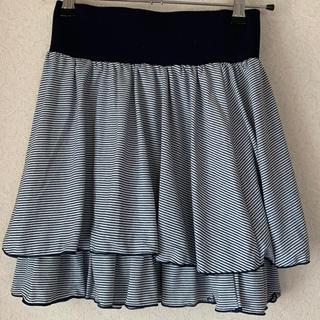リズリサ(LIZ LISA)のボーダースカート(ミニスカート)