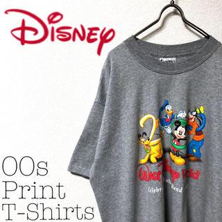 Disney - 【00s】Disney 古着 ビッグサイズ プリント Tシャツ