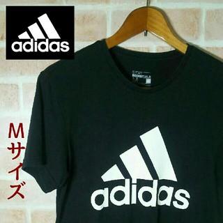 アディダス(adidas)のアディダス Tシャツ!Mサイズ‼黒‼(Tシャツ/カットソー(半袖/袖なし))