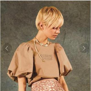 リリーブラウン(Lily Brown)の完売色🎀新作新品✨リリーブラウン 袖ボリュームTシャツ(Tシャツ(半袖/袖なし))
