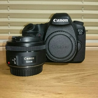 Canon - Canon EOS 6D EF50mmSTM
