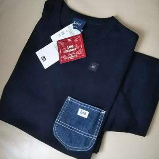 Lee - 〓新品タグ付き〓  LEE  デニムポケットTシャツ/M/ネイビー