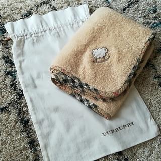 BURBERRY - バーバリー タオルマルチケット&巾着セット