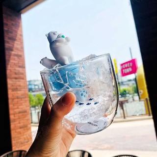 Starbucks Coffee - スターバックス中国海洋 しろくま 茶こし グラス
