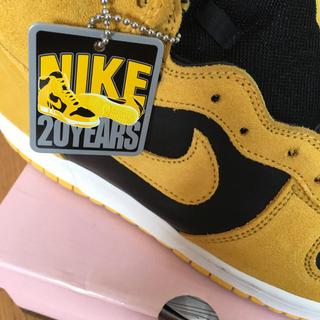 NIKE - Nike Dunk Hi Pro SB ダンクハイ オリジナルカラー 黒黄