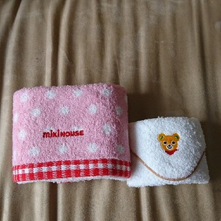 ミキハウス(mikihouse)のミキハウス ハンドタオル ミニタオル セット(タオル/バス用品)