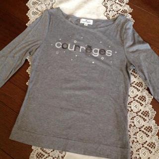 Courreges - クレージュ 七部袖 Tシャツ