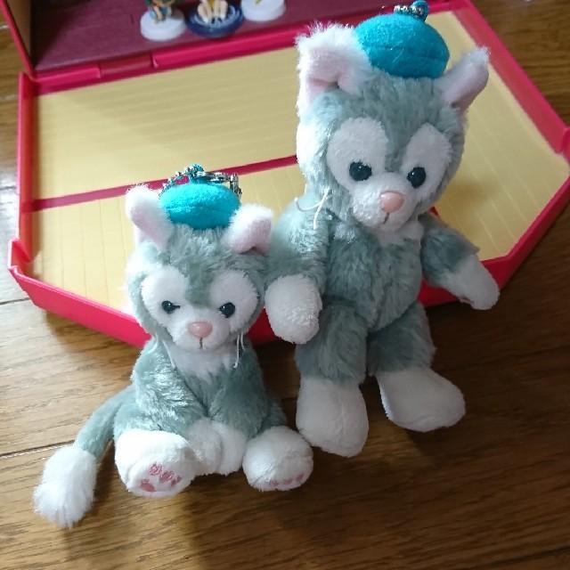 Disney(ディズニー)のジェラトーニ ぬいば セット エンタメ/ホビーのおもちゃ/ぬいぐるみ(ぬいぐるみ)の商品写真