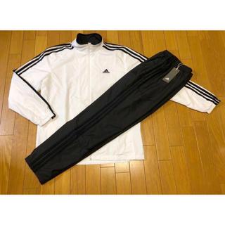 adidas - 新品adidas 3ストライプウィンド上下セットO定価12,938白黒アディダス