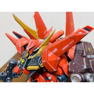 BANDAI - ガンプラ 塗装完成品 RE/100  AMX-107  バウ