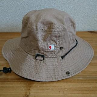 Champion - champion 帽子 57.5センチ ベージュ