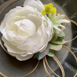toytoy413 コサージュ ブローチ 髪飾り 結婚式 卒業式(コサージュ/ブローチ)