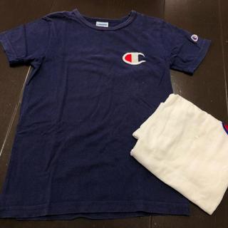 チャンピオン(Champion)のチャンピオン 130 半袖Tシャツ 紺 champion(Tシャツ/カットソー)