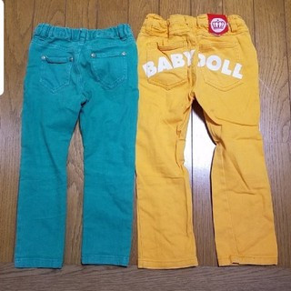 ベビードール(BABYDOLL)のベリーズベリー & ベビードール カラー パンツ セット 100cm (パンツ/スパッツ)