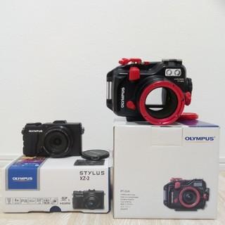 OLYMPUS - 【最終値下げ!】OLYMPUS XZ-2 カメラ PT-054 ハウジング