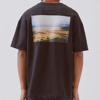 FEAR OF GOD - FOG ESSENTIALS Photo tee Black Tシャツ