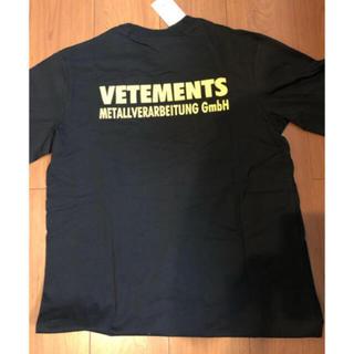 OFF-WHITE - vetements ヴェトモン Tシャツ18ss美品 dude9系