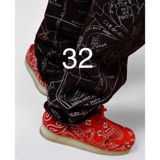 Supreme - 【32】supreme gonz map denim painter pant