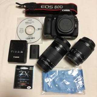 Canon - Canon EOS 80D キャノンイオス80D ダブルレンズセット