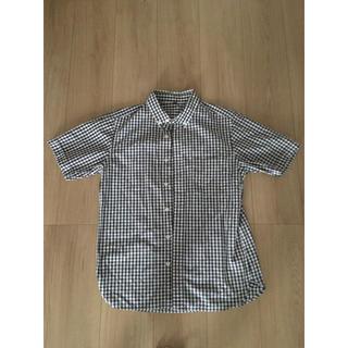 ムジルシリョウヒン(MUJI (無印良品))の無印良品ギンガムチェック半袖シャツsメンズ夏服(シャツ)