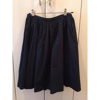 ドアーズ(DOORS / URBAN RESEARCH)のアーバンリサーチドアーズ コットンギャザースカート(ひざ丈スカート)