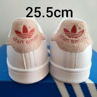 アディダス(adidas)の未使用 海外限定 アディダスオリジナルス スタンスミス ピンク レッド(スニーカー)