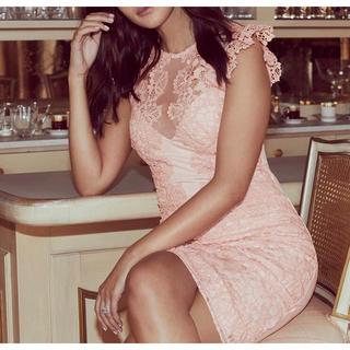 リプシー(Lipsy)のLIPSY  リプシー 新品未使用即発可能ワンピース ドレス UK4 サイズxs(ミニワンピース)