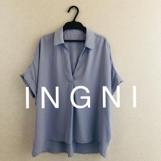 INGNI - USED★ I N G N Iイング★トロミスキッパー半袖シャツ