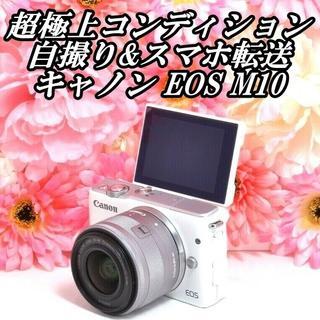 Canon - ★超極上コンディション★自撮り&スマホ転送OK★キャノン EOS M10