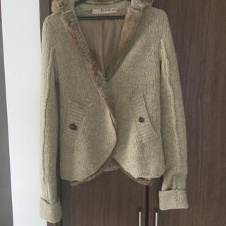 ブランバスク(blanc basque)のブランバスク  ニットジャケット(ニット/セーター)